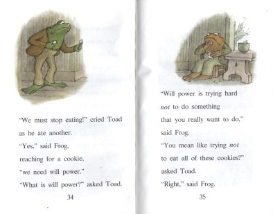 frog and toad willpower